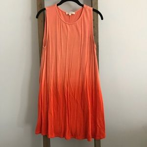 Orange Ombre Dress